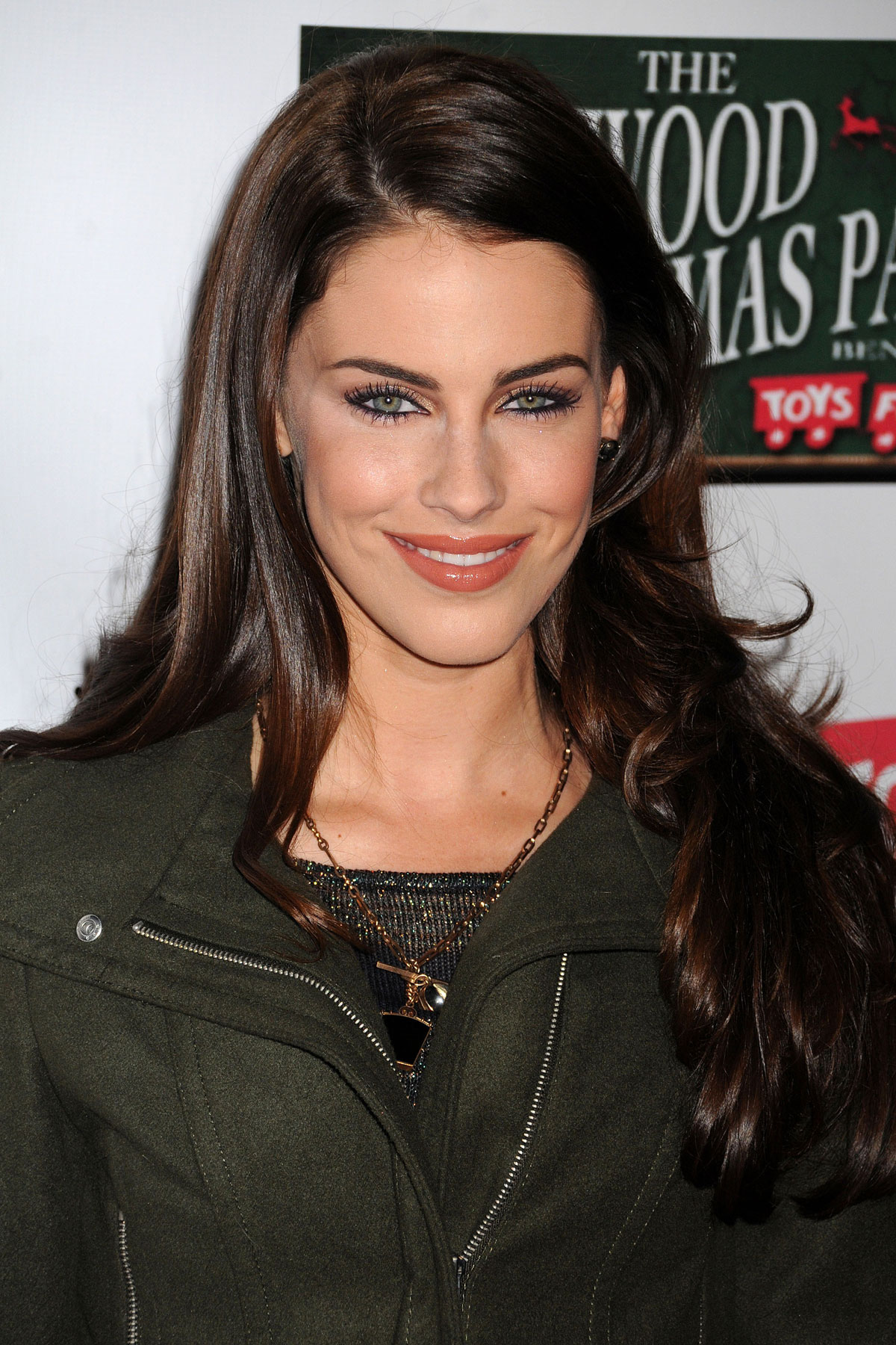 JESSICA LOWNDES at Hollywood Christmas Parade - HawtCelebs