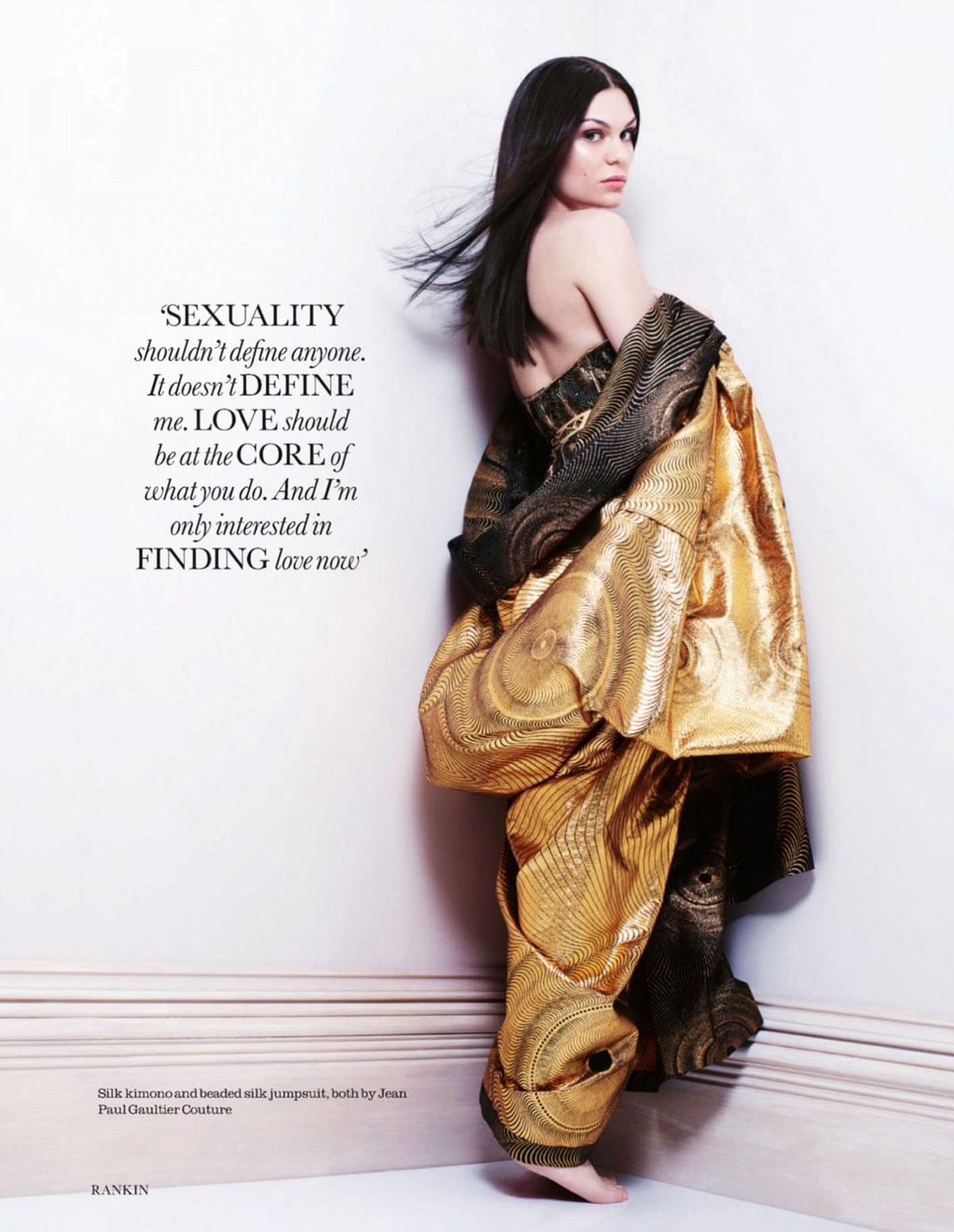 JESSIE J in Elle Magazine, UK November 2012 Issue – HawtCelebs