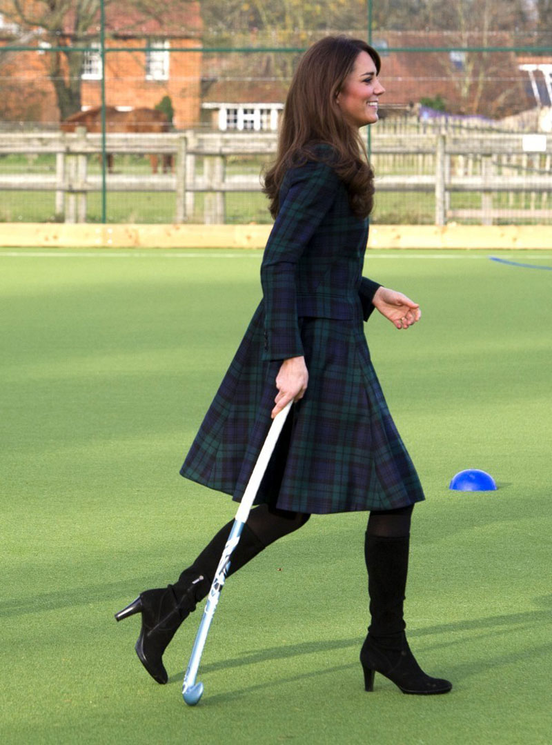 KATE MIDDLETON At St Andrews School In Pangbourne