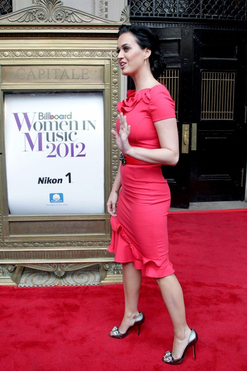 KATY PERRY at The Billboard Women in Music Luncheon in New