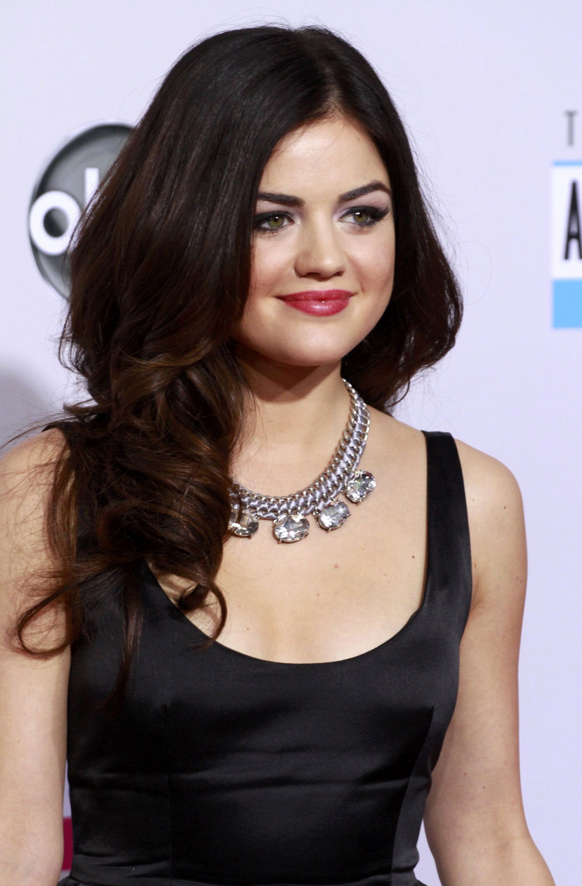 LUCY HALE at 40th Anniversary American Music Awards in Los AngelesLucy Hale