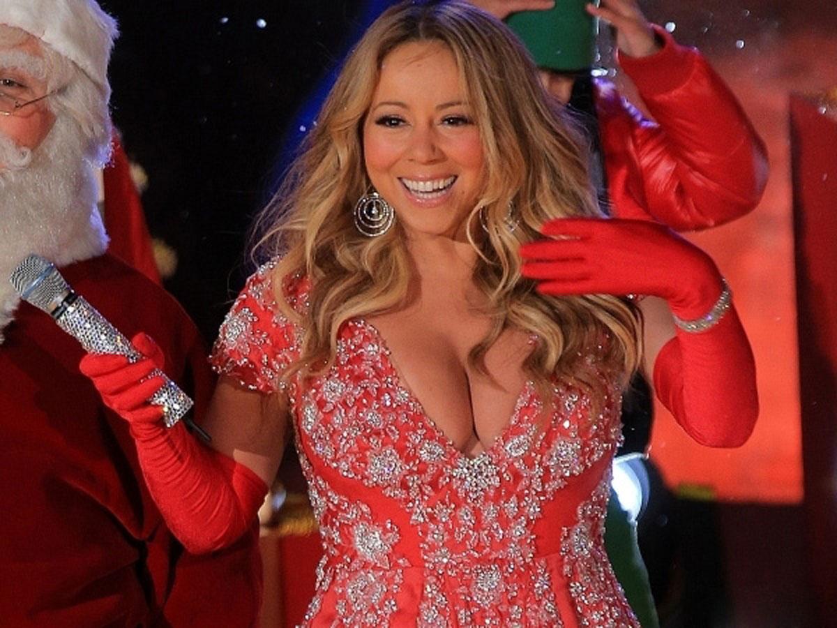 Mariah Carey Christmas Dress