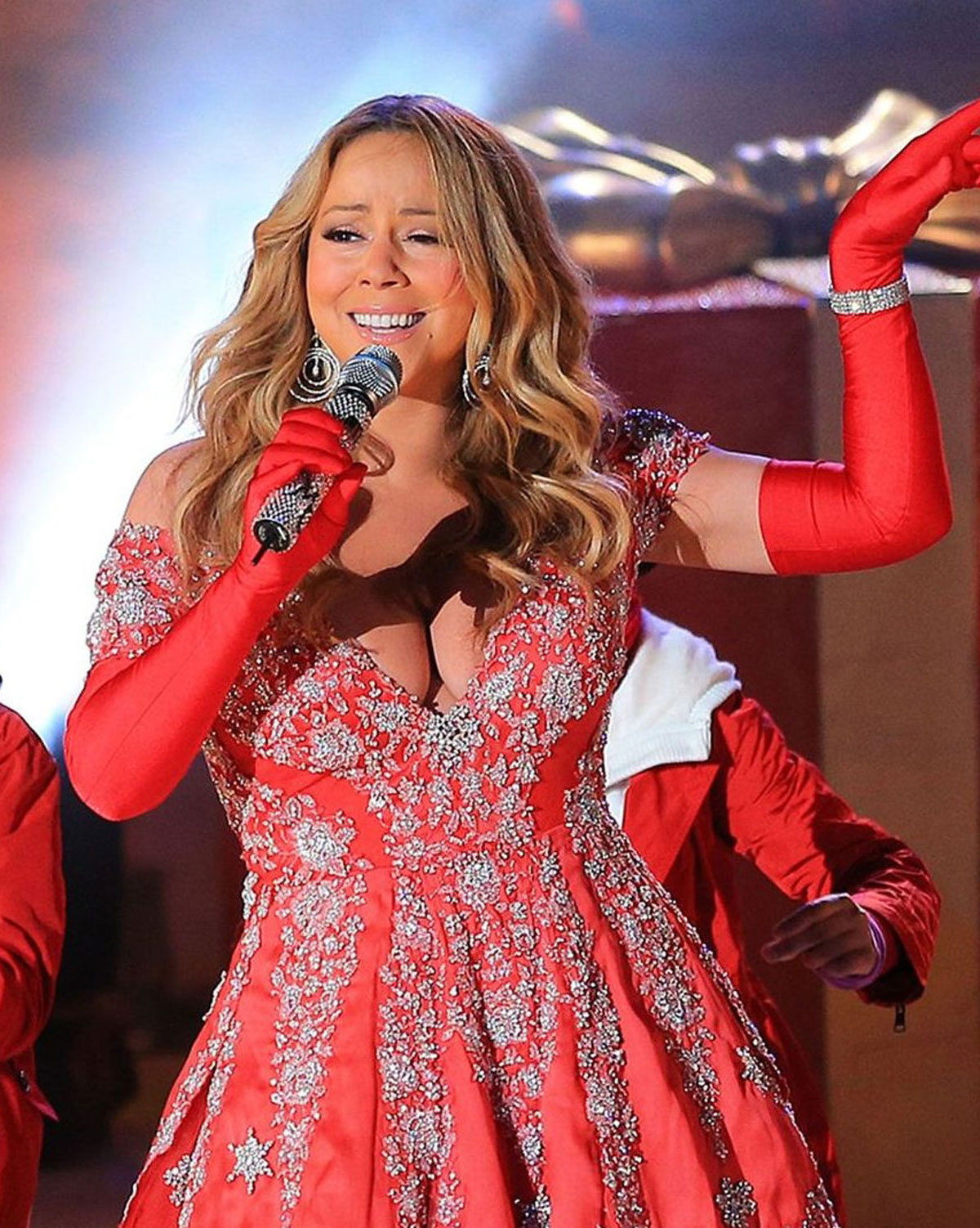 MARIAH CAREY  sc 1 st  HawtCelebs & MARIAH CAREY at 80th Annual Rockefeller Center Christmas Tree ...