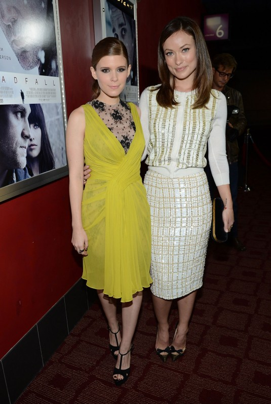 OLIVIA WILDE and KATE MARA