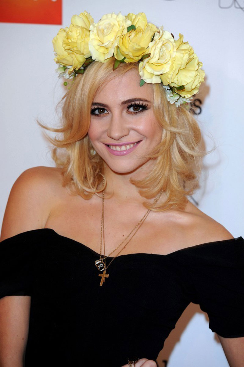 Pixie Lott At 2012 Wgsn Global Fashion Awards In London
