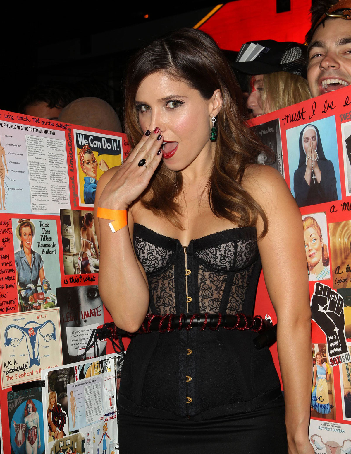 SOPHIA BUSH at Hollywood Forever Halloween Party - HawtCelebs ...