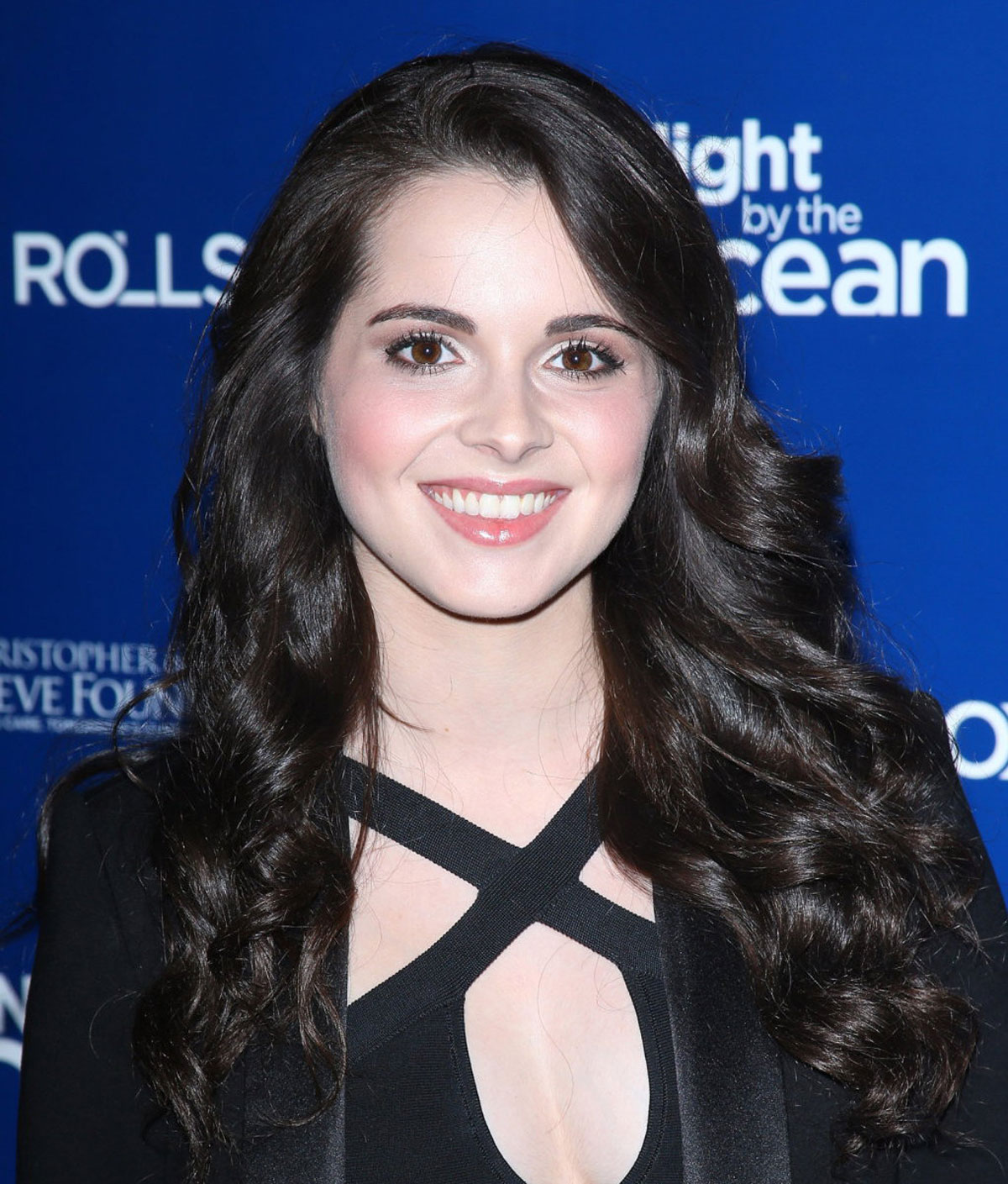 VANESSA MARANO at Life Rolls on Foundation Night by The Ocean in    Vanessa Marano
