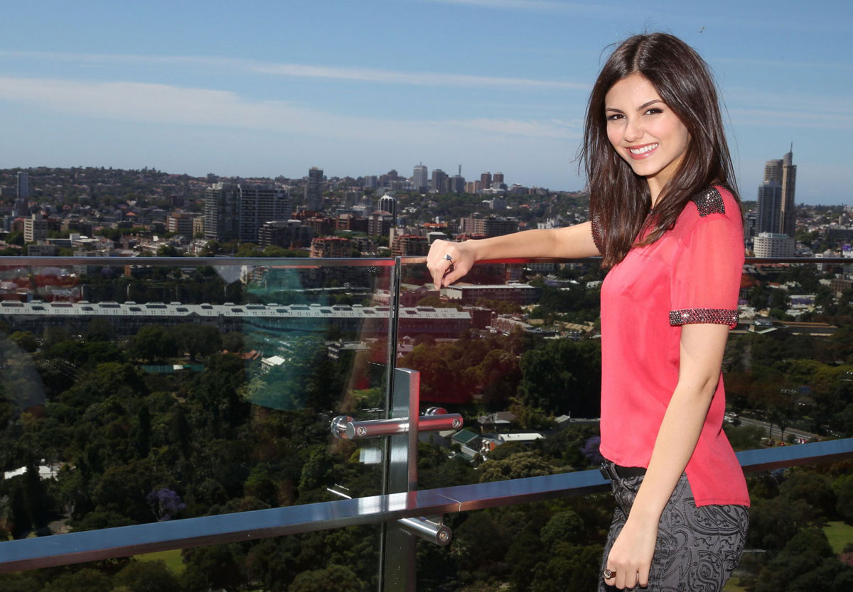 Victoria Justice On Photocall At A Hotel In Sydney