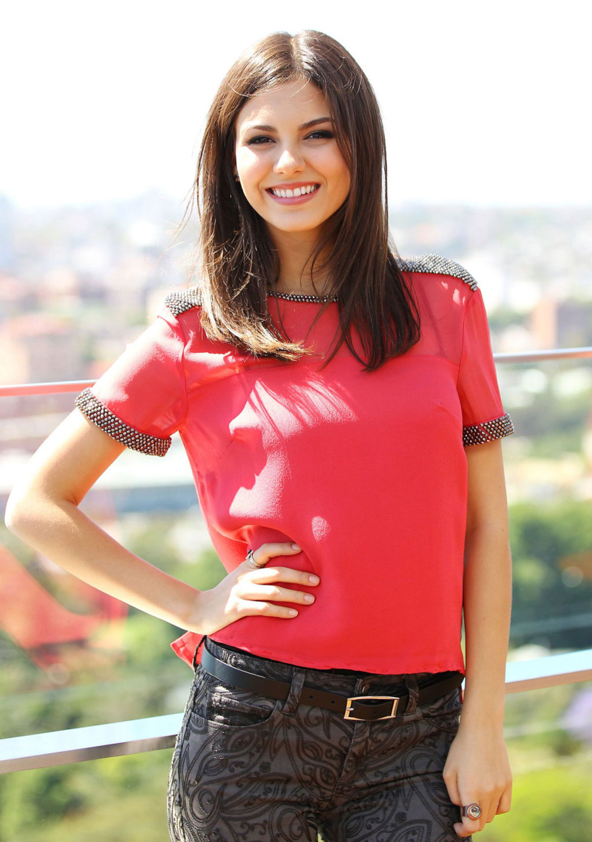VICTORIA JUSTICE On Photoshoot In Sidney