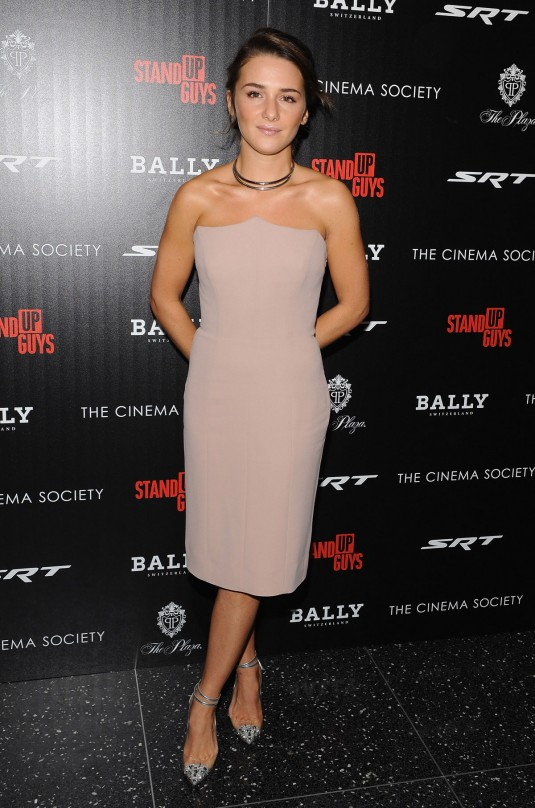 ADDISON TIMLIN at Stand Up Guys Premiere