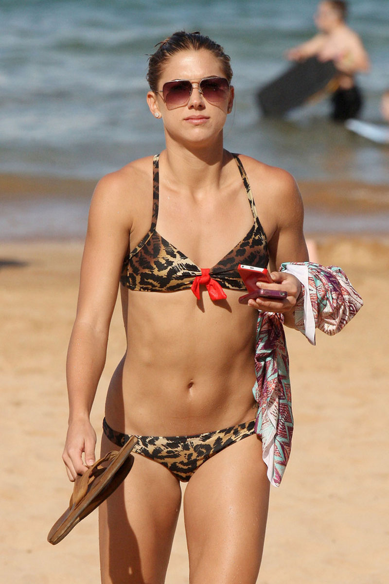 alex morgan bikini model