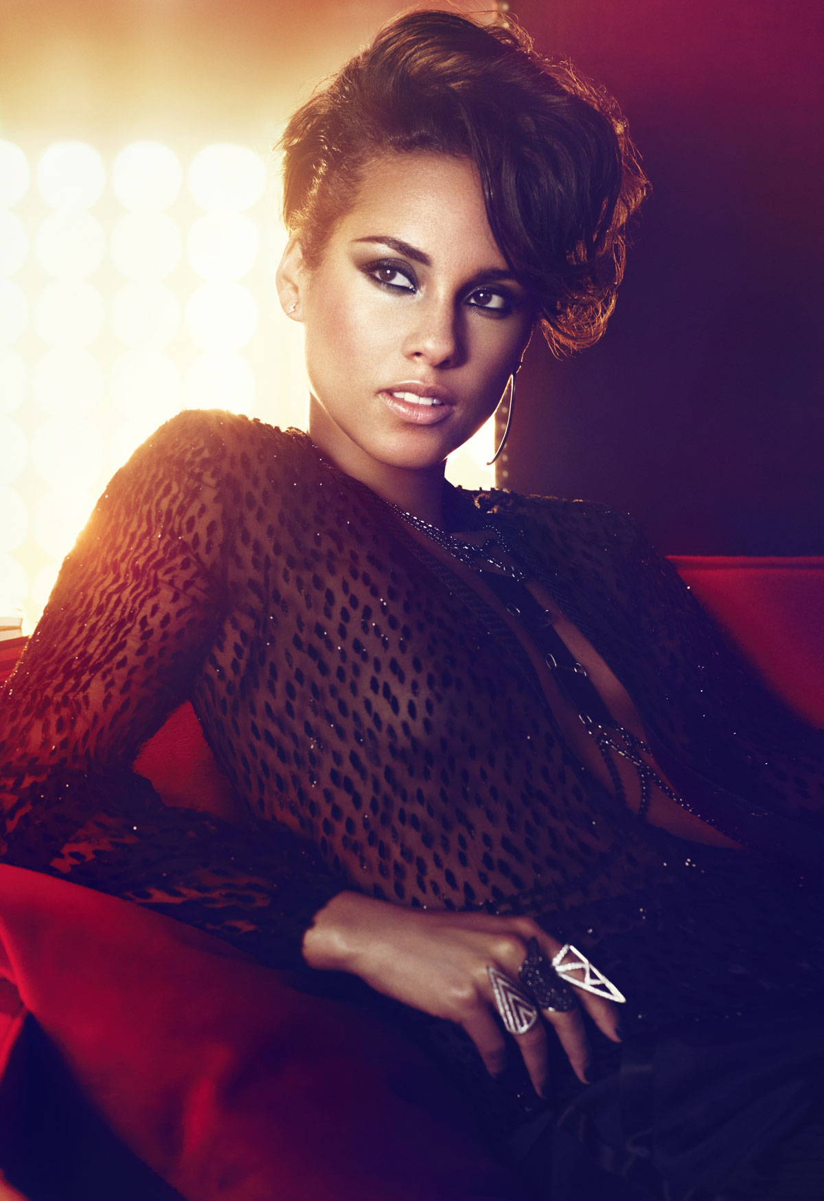 ALICIA KEYS - Girl on Fire Promo Shoot and CD Cover ... Alicia Keys Songs
