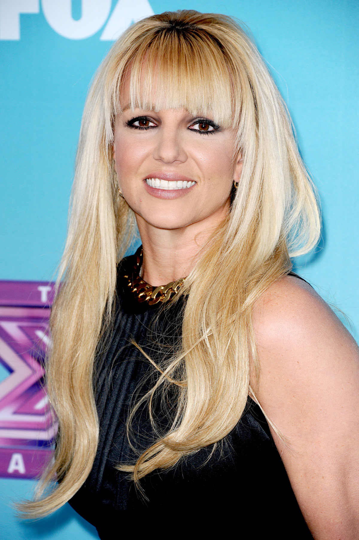 BRITNEY SPEARS at The X Factor Season Finale News Conference in Los Angeles - HawtCelebs