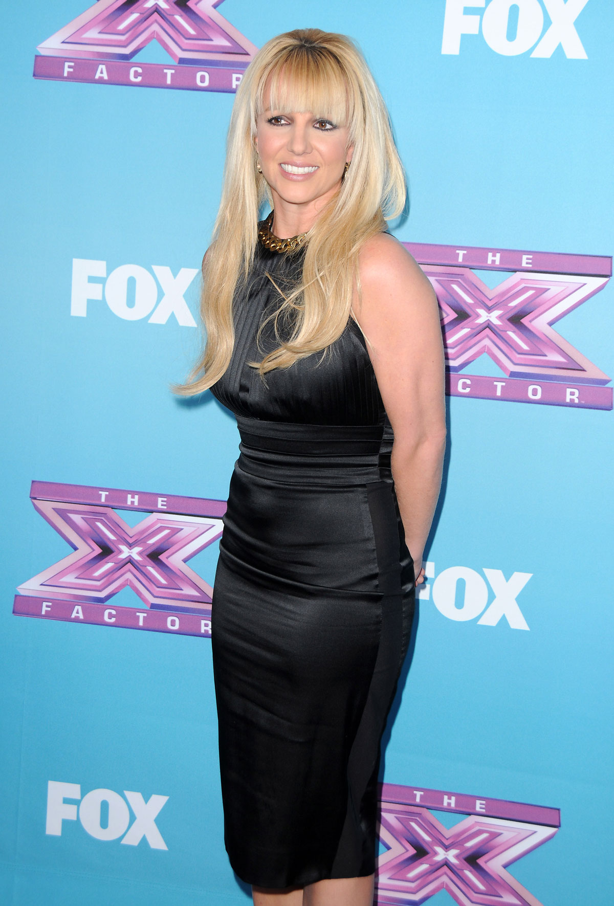 Britney Spears at The X Factor Season Finale