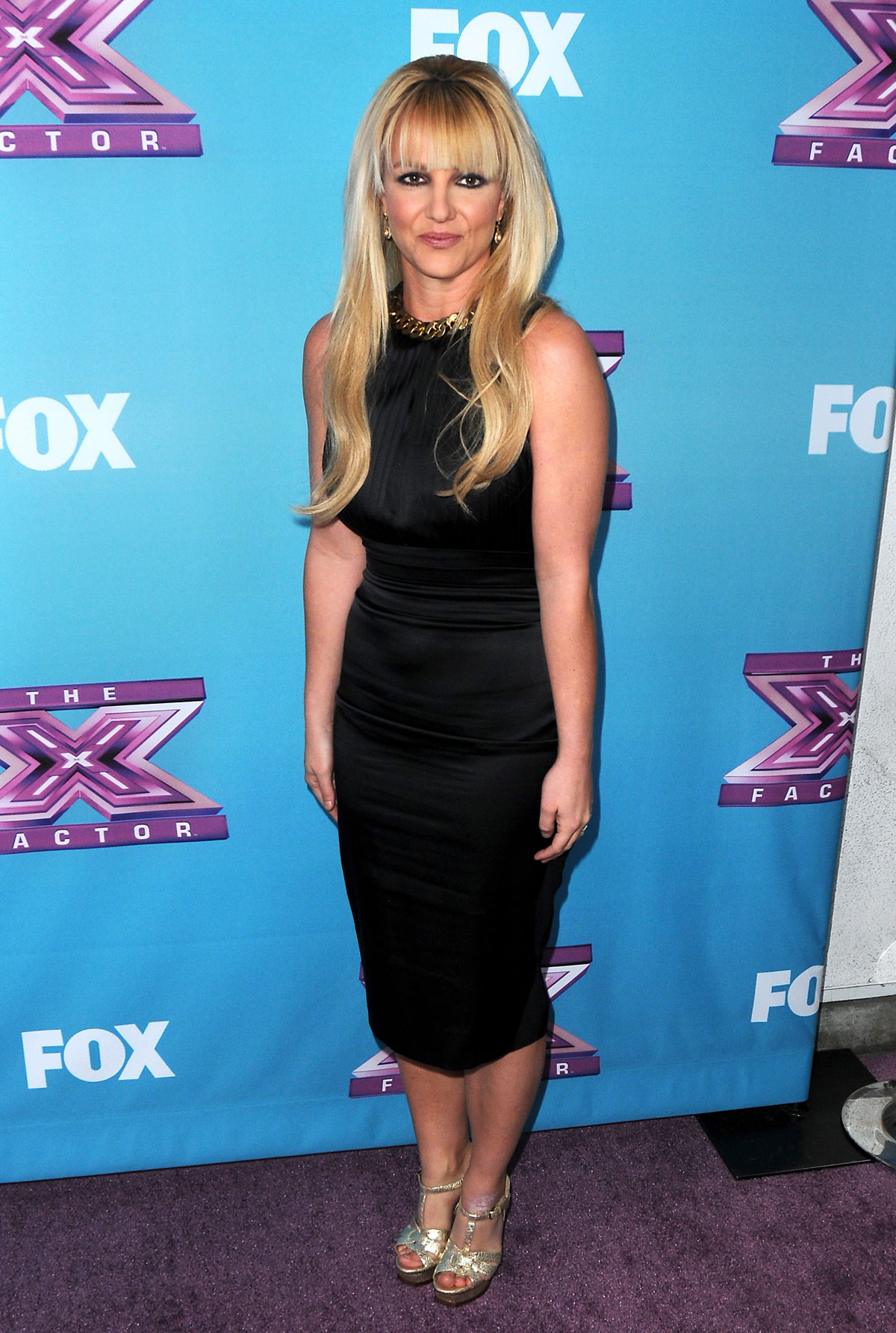 BRITNEY SPEARS at The X Factor Season Finale Night 1 in Los Angeles - HawtCelebs