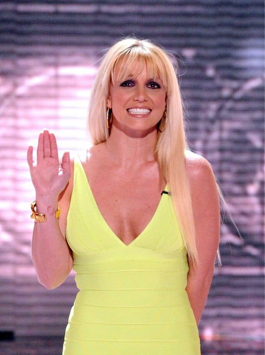 BRITNEY SPEARS at The X Factor Semi-final
