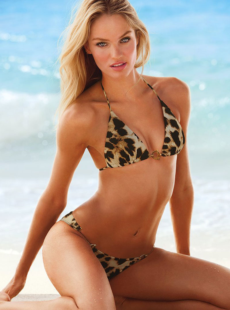 CANDICE SWANEPOEL at Victoria's Secret Swim 2013 ...