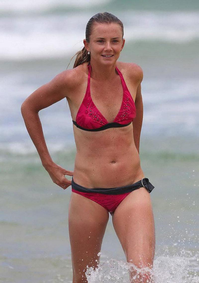 Intelligible Australian bikini beach