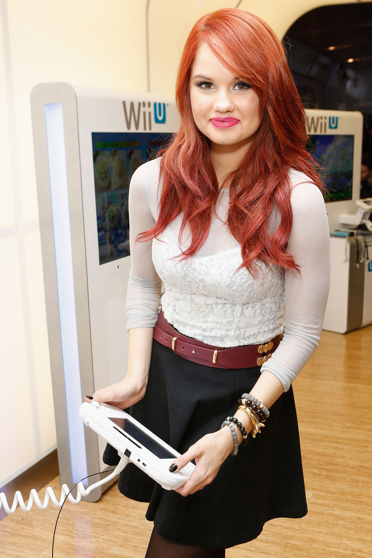 Debby Ryan At How You Will Play Next At The Nintendo World Store In New York -6265