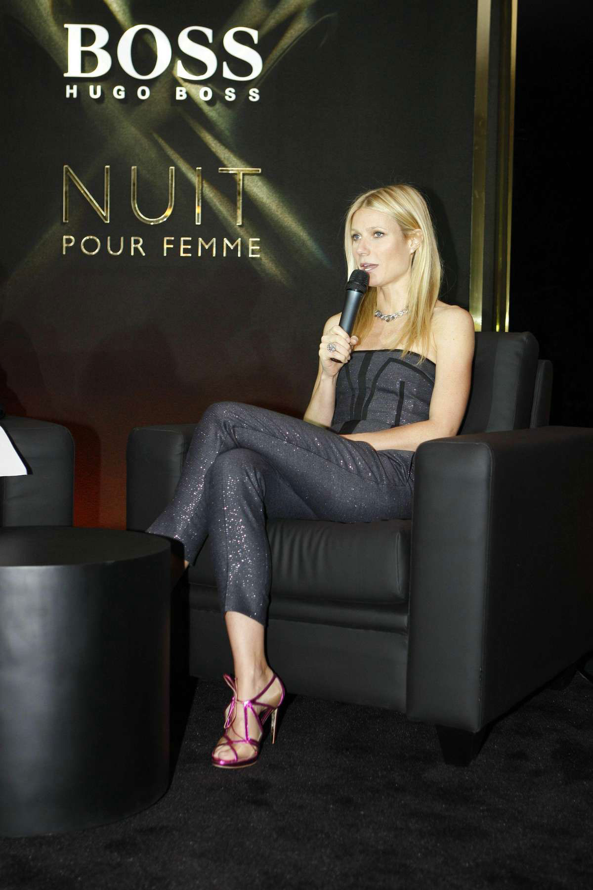 GWYNETH PALTROW At Hugo Boss Fragrance Launch In New York