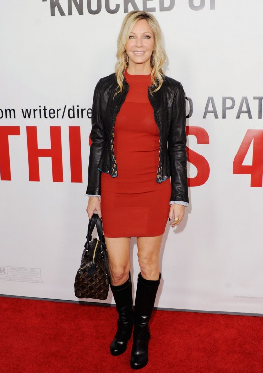 HEATHER LOCKLEAR at This is 40 Premiere