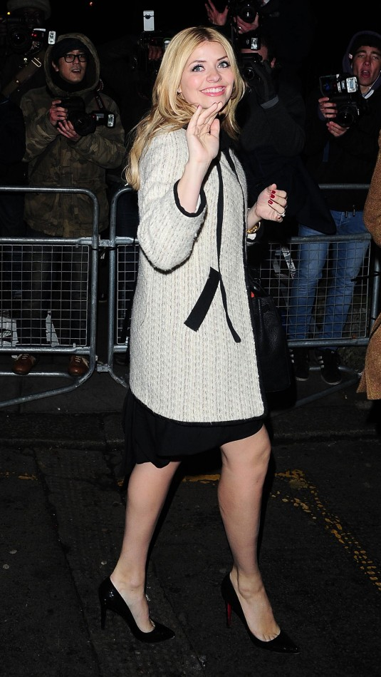 HOLLY WILLOUGHBY at Viva Forever!'s Press Night