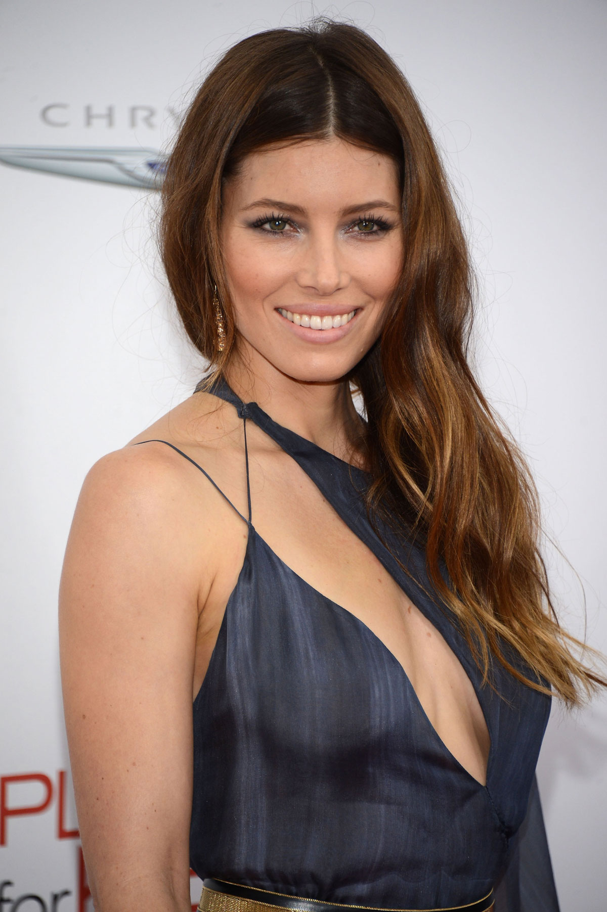 Jessica Biel At Playing For Keeps Premiere In New York  Hawtcelebs