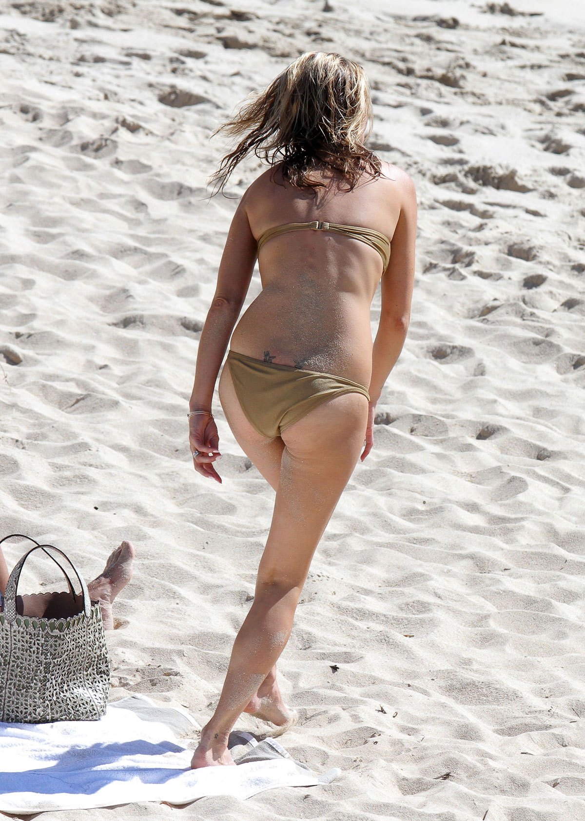 Kate Moss In Bikini On The Beach In St Barts Hawtcelebs