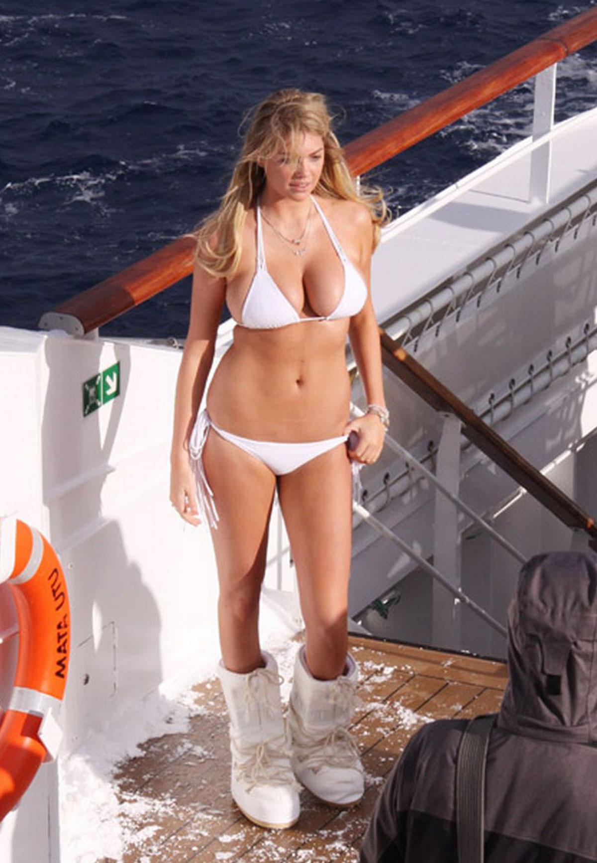 Kate Upton In Bikini Photoshoot For Sports Illustrated