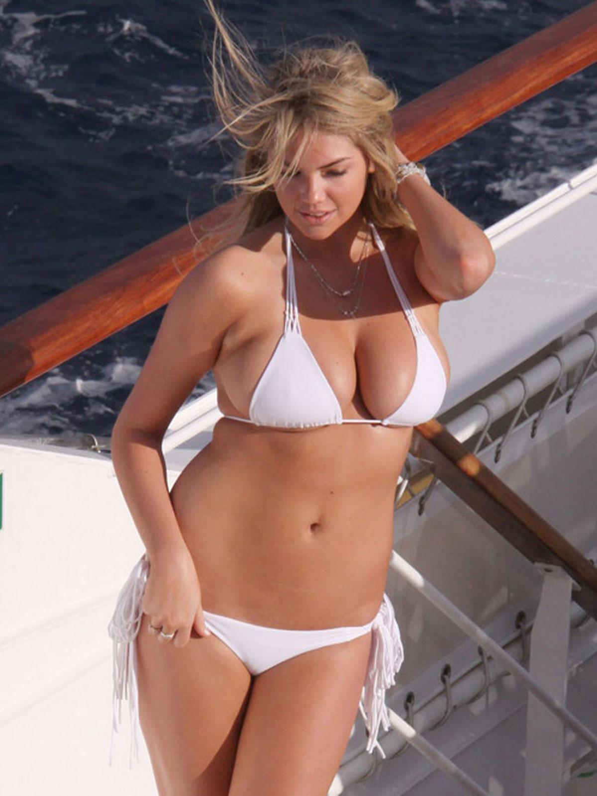 KATE UPTON in Bikini Photoshoot for Sports Illustrated ...