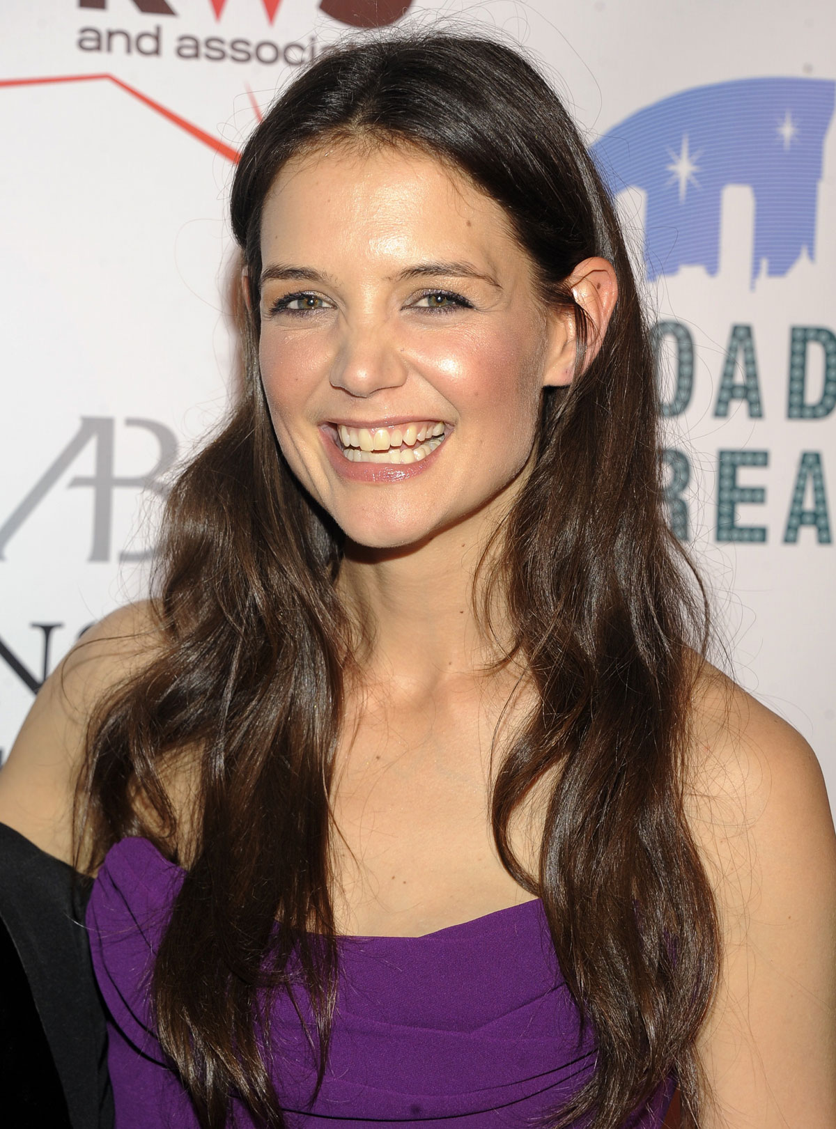 KATIE HOLMES at The Broadway Dreams Foundation's Gala in New York Katie Holmes