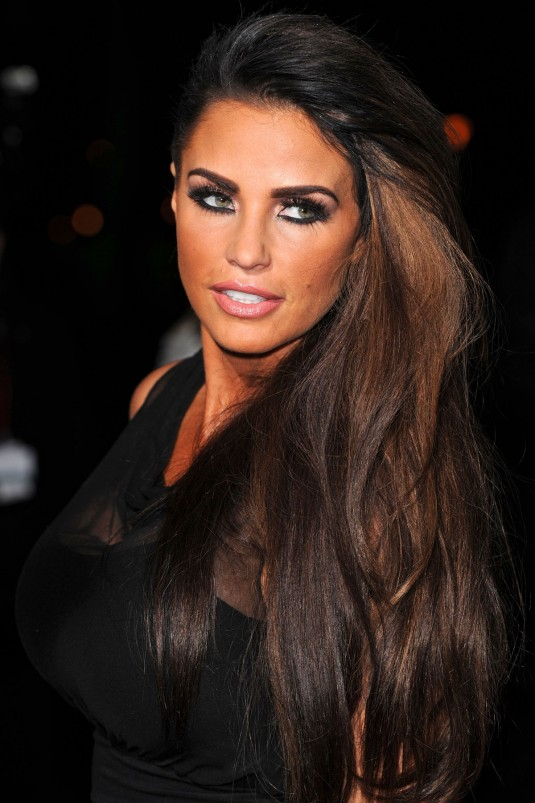 KATIE PRICE at the Sun Military Awards
