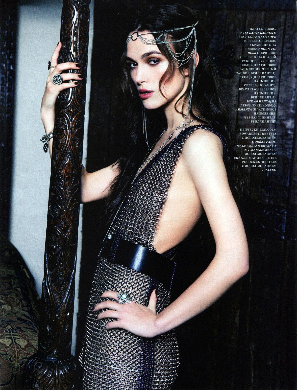 KEIRA KNIGHTLEY in Harper   s Bazaar Magaziine  Russia January 2013    Keira Knightley 2013