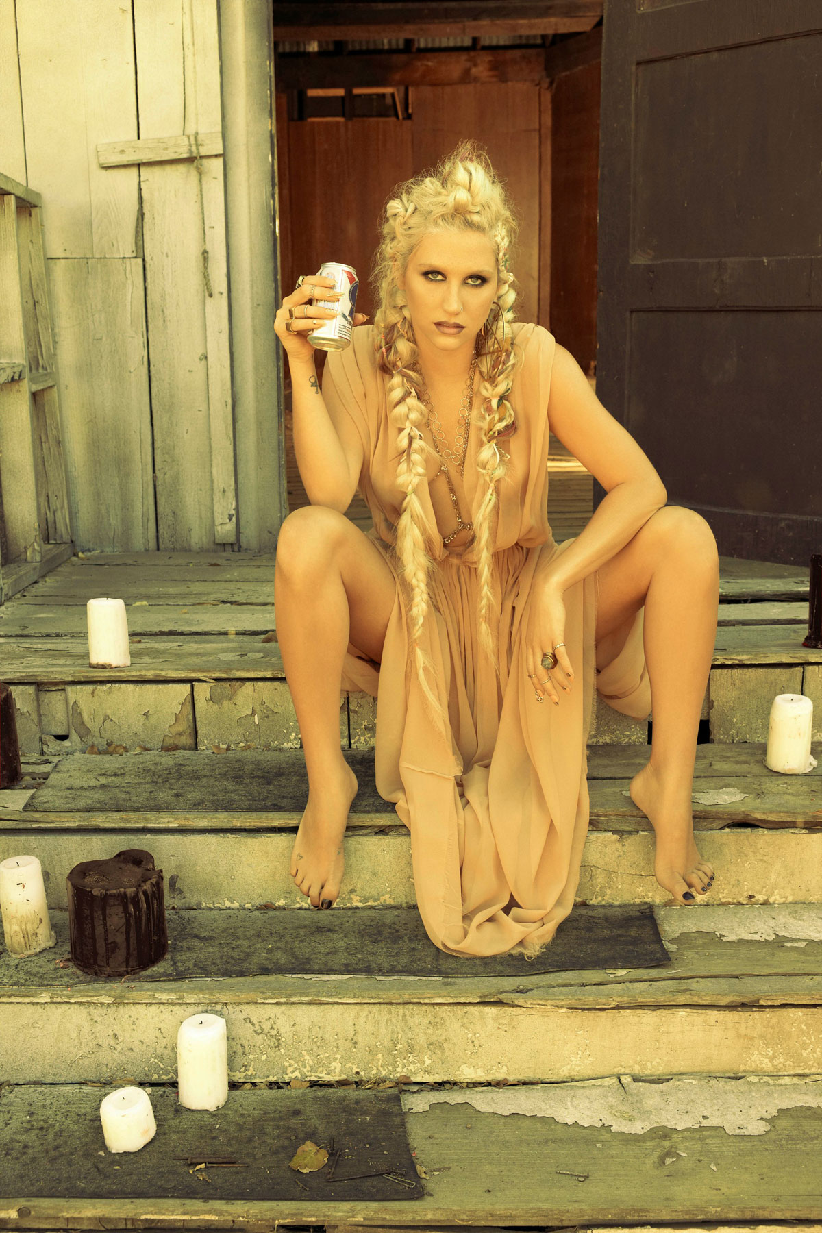 KESHA SEBERT in Yu Tsai Photoshoot for Her New Album, Warrior