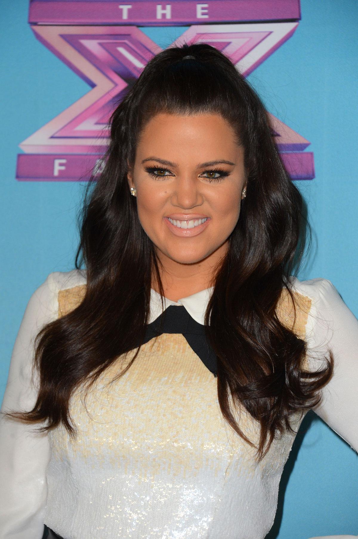 Khloe Kardashian At The X Factor Season Finale Night 1 In