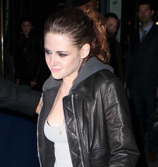 KRISTEN STEWART Arriving at On The Road After Party