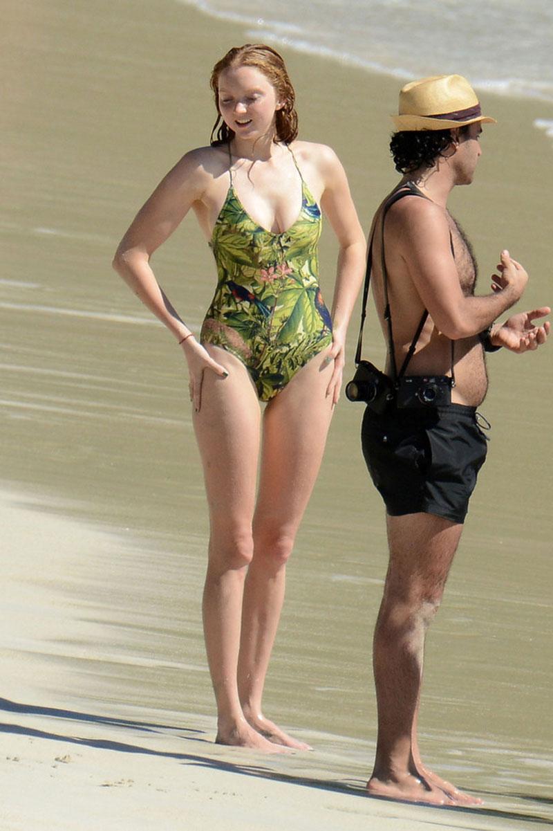 Bikini Lily Cole nude photos 2019