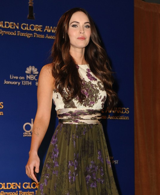 MEGAN FOX at Golden Globe Awards Nominations
