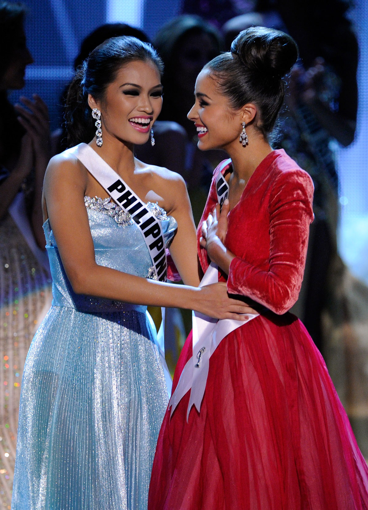 olivia culpo as miss universe at the 2012 miss universe