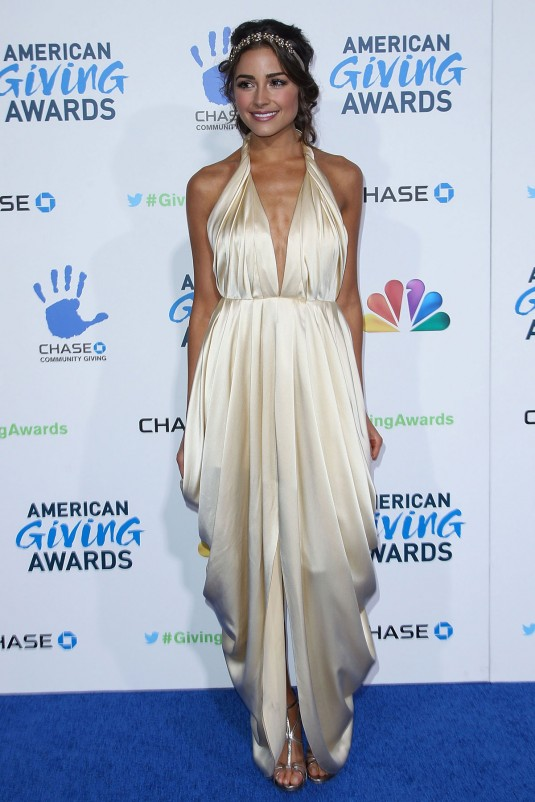 OLIVIA CULPO at American Giving Awards