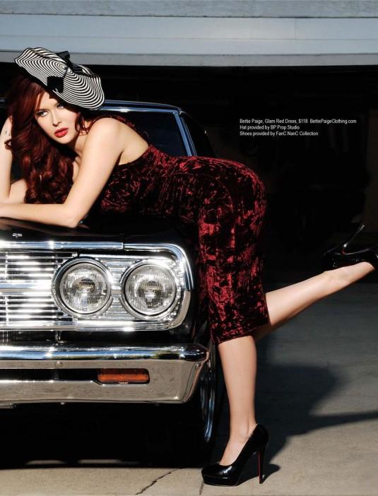 RENEE OLSTEAD in Regard Magazine