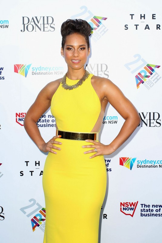 ALIIA KEYS at 2013 Aria Awards
