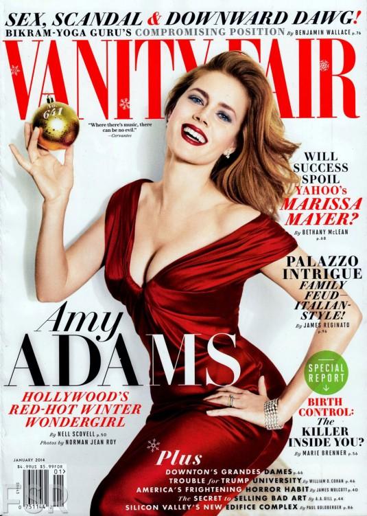 AMY ADAMS in Vanity Fair Magazine, January 2014 Issue