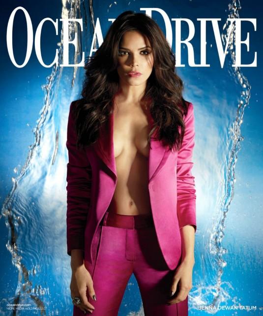 JENNA DEWAN in Ocean Drive Magazine