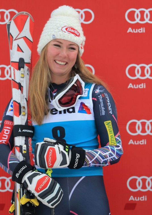 MIKAELA SCHIFFRIN at  2013 FIS World Cup