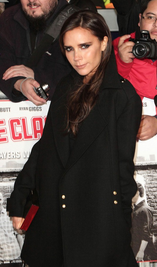 VICTORIA BECKHAM at The Class of 92 Premiere