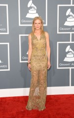 NICOLE KIDMAN at 55th Annual Grammy Awards in Los Angeles