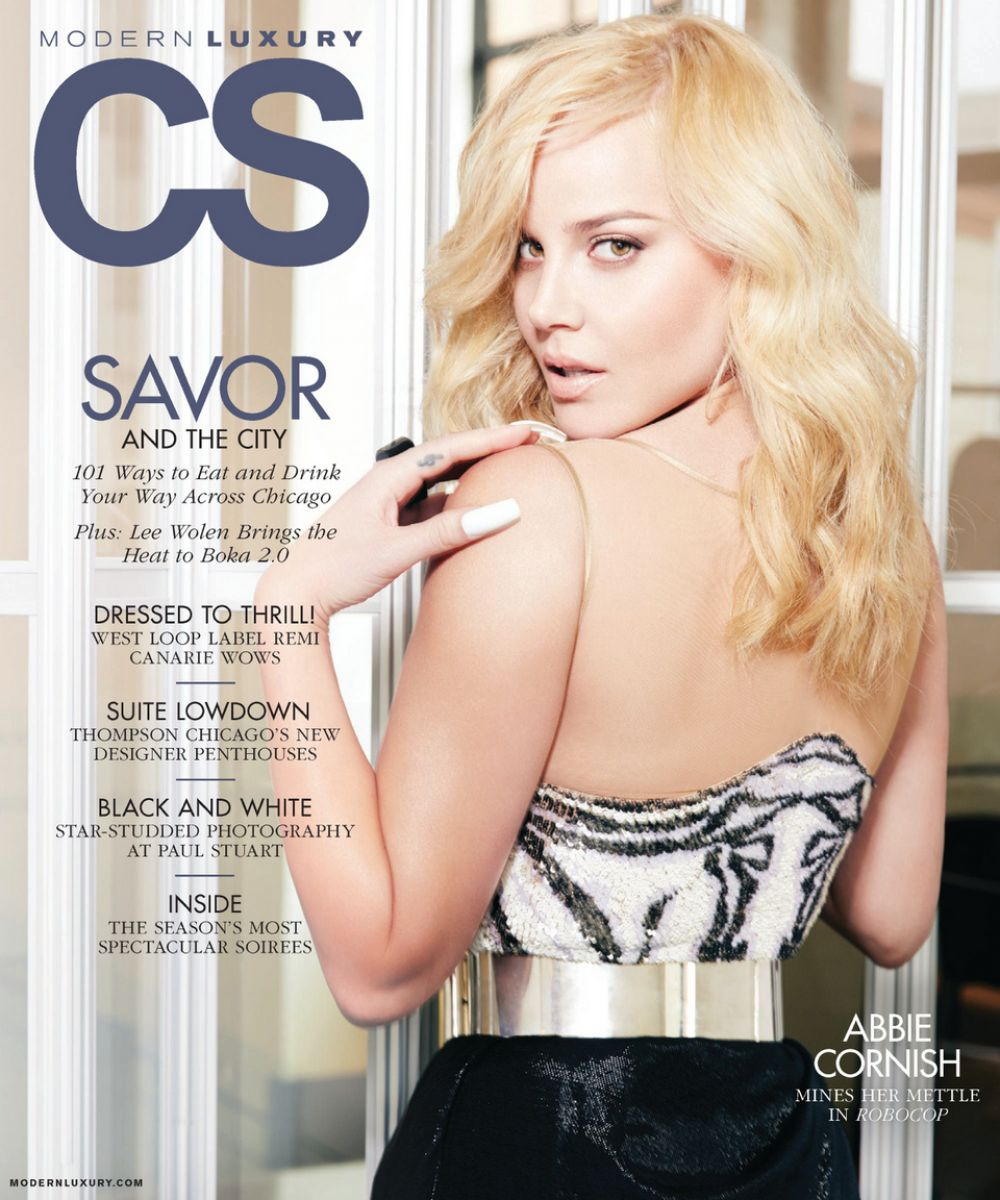 ABBIE CORNISH in Angeleno Magazine, February 2014 Issue