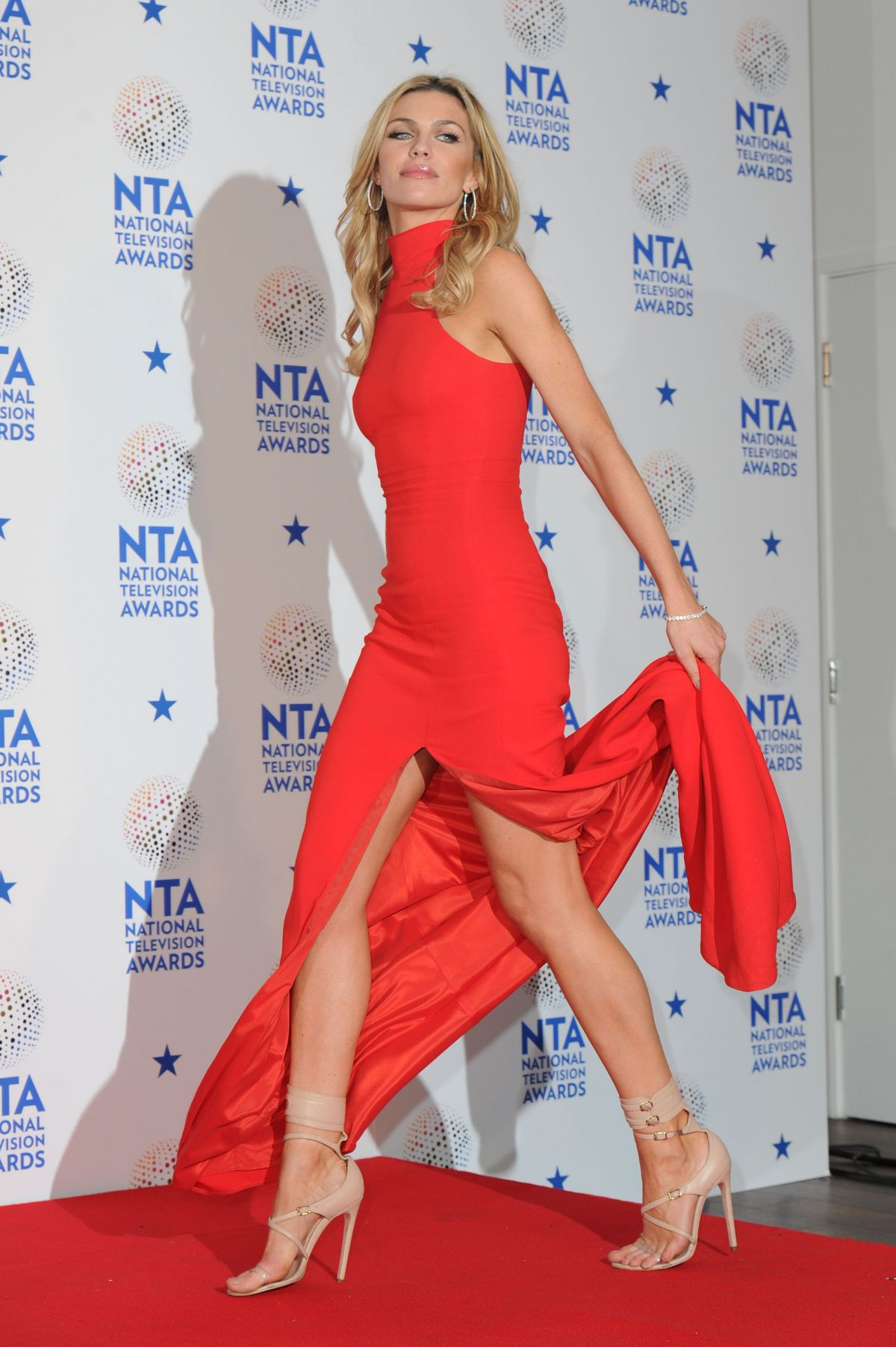 ABIGAIL ABBEY CLANCY at 2014 National Television Awards in London