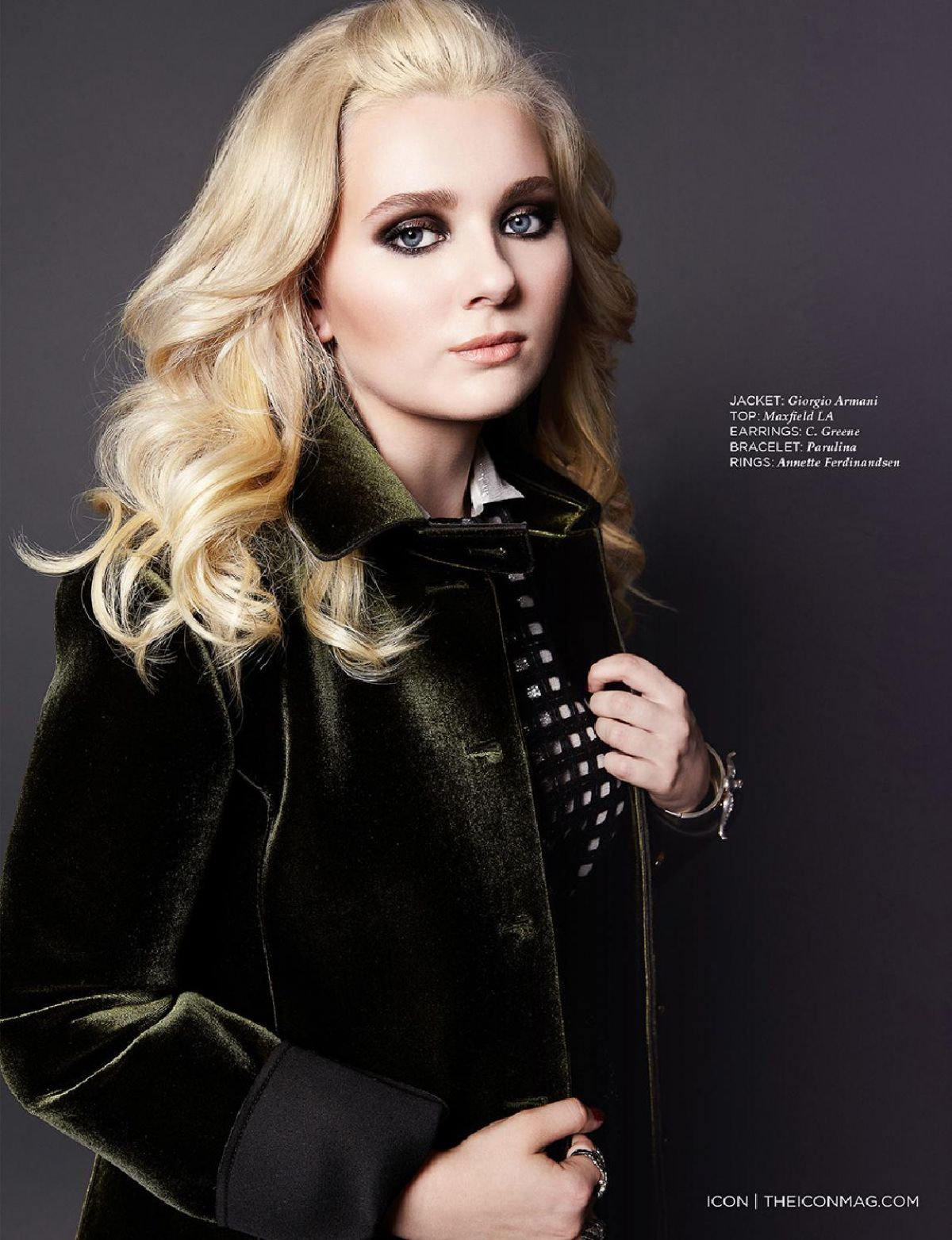 ABIGAIL BRESLIN in Icon Magazine New Year 2014 Issue